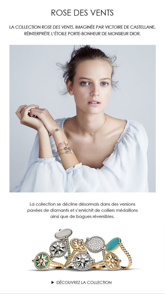Rose des Vents de Dior, nouvelle collection