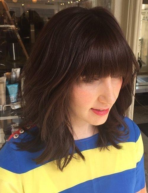 20 Stylish Low Maintenance Haircuts And Hairstyles Medium Hair Styles Low Maintenance Haircut Modern Shag Haircut