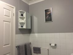 Pin By Lyndsey Thirlby On Bathroom In 2020 Dulux Chic Shadow Chic Shadow Dulux Paint Colours Grey