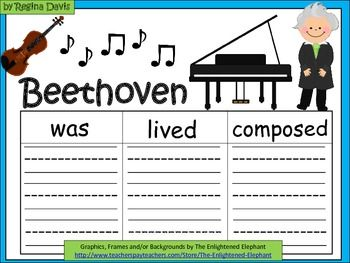Can someone give me help and advice on writing an essay about Beethoven?