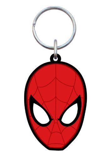 Marvel Spider-Man Soft Touch Key Ring @ niftywarehouse.com #NiftyWarehouse #Spiderman #Marvel #ComicBooks #TheAvengers #Avengers #Comics