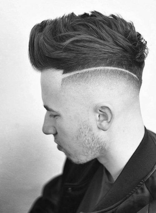 Haircut Line On Side : haircut, Short, Hairstyles, Trending, Haircuts, Short,