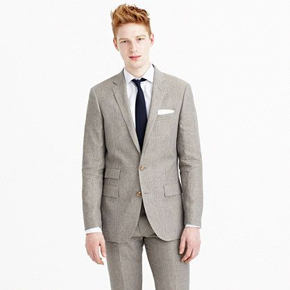 Ludlow suit jacket in délavé Italian linen - Ludlow Suit - Men - J.Crew
