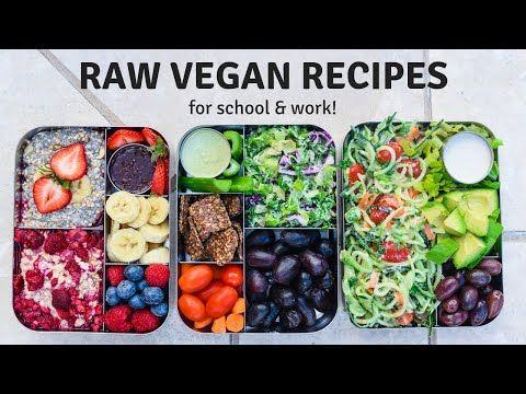 61 Raw Vegan Meal Prep Recipes Healthy Easy Ideas Youtube Raw Vegan Recipes Vegan Meal Prep Raw Food Recipes