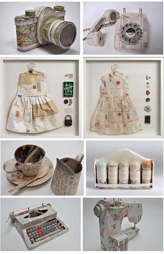 paper sculpture/art