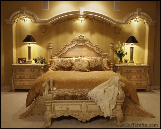 Egyptian Style Bedroom Design | Bedroom From Mefco Domiat From .