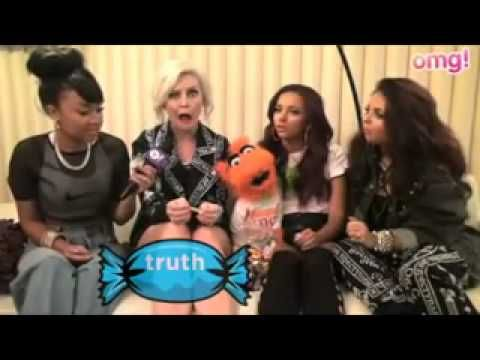 Little Mix sing their favourite One Direction song. this interview is the best <3