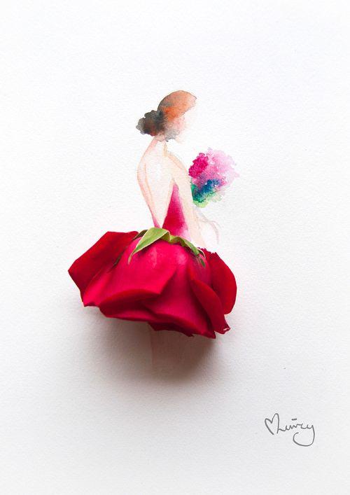 Red flower (@lovelimzy)