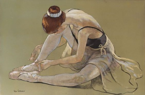 Katya Gridneva 1965 | Ukrainian Figurative painter: