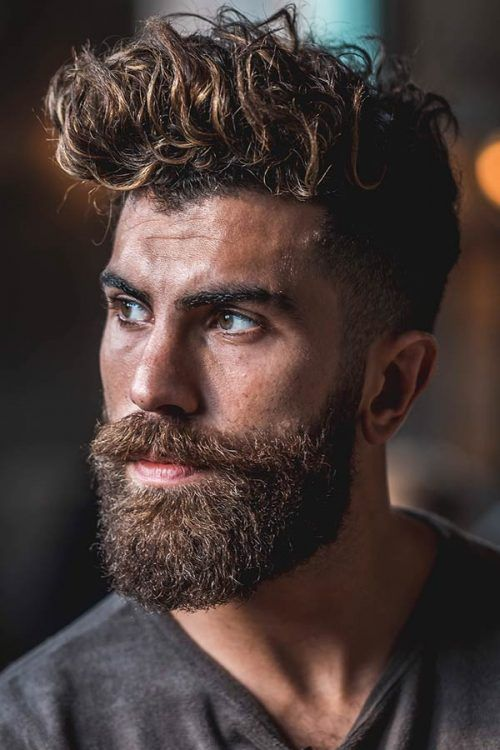 55 Sexiest Short Curly Hairstyles For Men Menshaircuts Com Wavy Hair Men Mens Hairstyles Short Thick Hair Styles