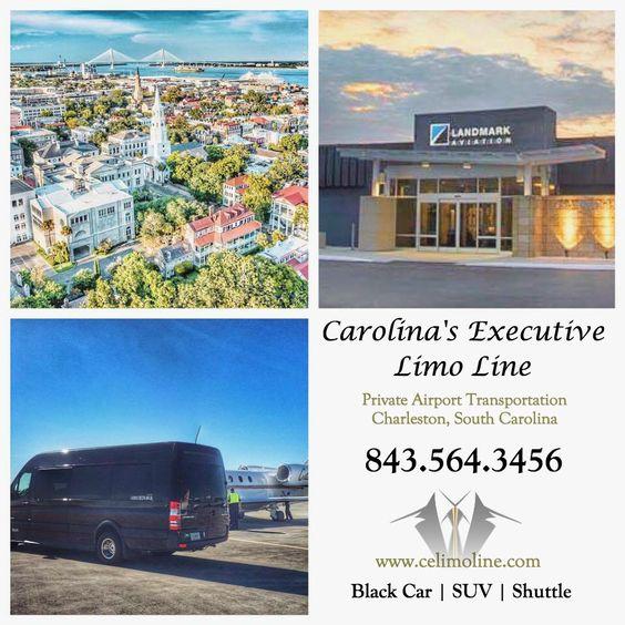 Charleston Private Airport Car Service From Landmark Aviation