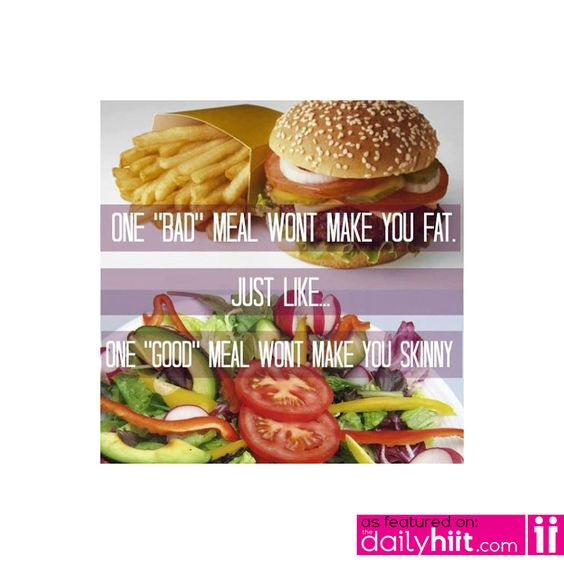 So just stop trying to convince me to go ahead and cheat!  #foodrules Via http://TheDailyHiit.com
