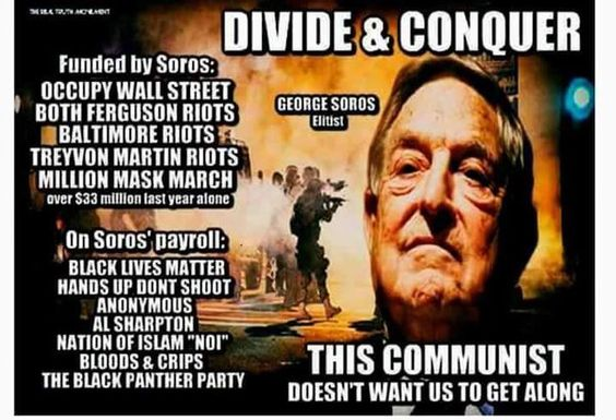 """McPherson Family on Twitter: """"@gentlemanirish @BarbMuenchen Trump wins,Soros is done.1 way ticket.Soros scared 2death& his last fight.Throwing💲@ militant grps 2stopTrump"""""""