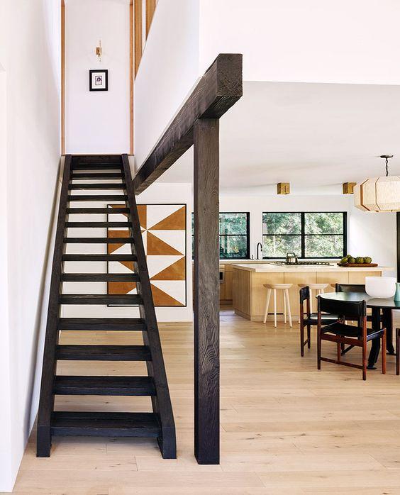 Every Piece A Statement A Refined Malibu Home For A Father And Son By La Designer Brigette Romanek Remodelista In 2020 Studio Interior Design Studio Interior Design