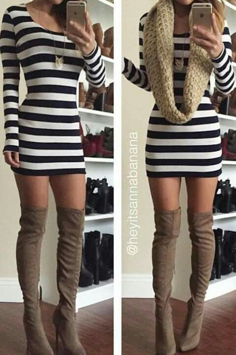My favorite boots and CFM dress