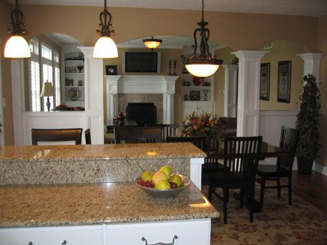 Custom Homes Open Floor Plans Designed to Your Specifications