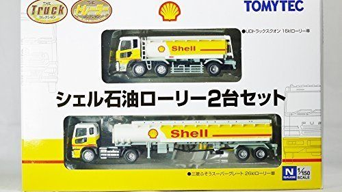TOMYTEC 1/150 Scale THE TRUCK & TRAILER FIGURE COLLECTION Royal Dutch Shell Oil
