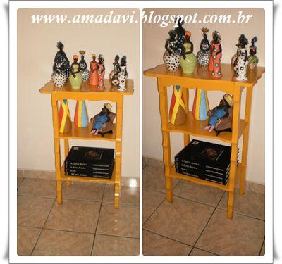 Davi, o Amado: Craftices: Mesinha Amarela