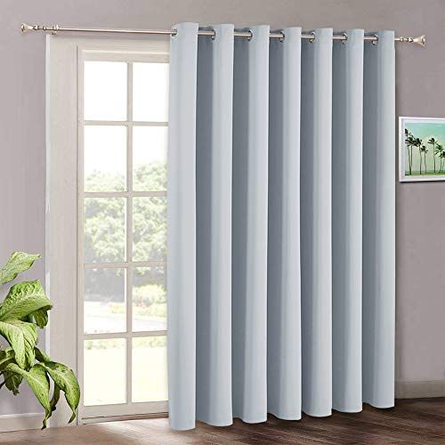 Ryb Home Room Darkening Bedroom Curtains Vertical Blinds For Sliding Glass Door Therm Living Room Patio Doors Sliding Door Curtains Vertical Blinds Curtains