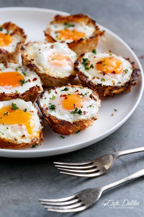 Cafe Delites   Hash Brown Egg Cups (Low Carb   Gluten Free)   http://cafedelites.com