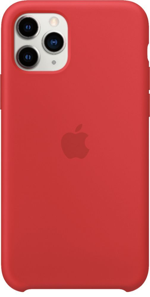 Apple Iphone 11 Pro Silicone Case Product Red Mwyh2zm A Best Buy In 2020 Apple Iphone Iphone Iphone 11