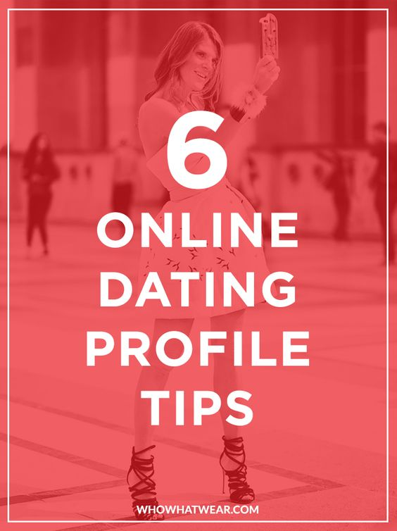 Online dating profile advice