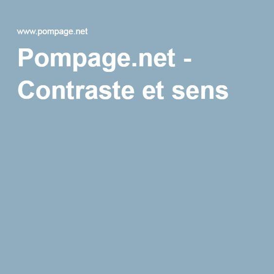 Pompage.net - Contraste et sens