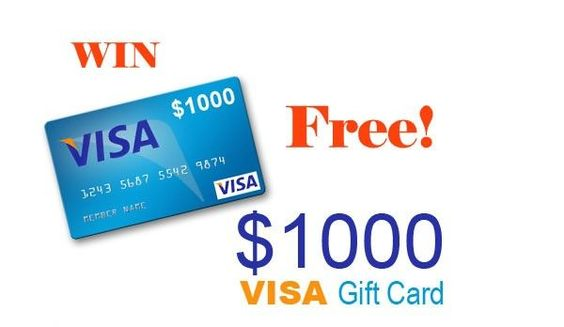 Get 1000 Visa To Spend Now Creditcards Credit Cards
