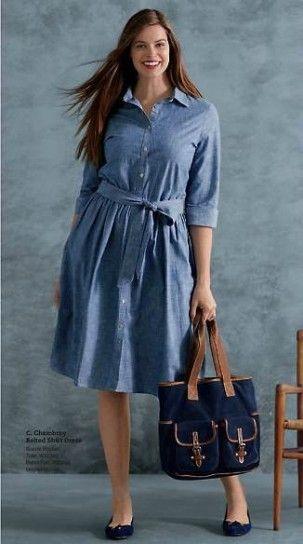 vestidos camisero para talla grande - Buscar con Google