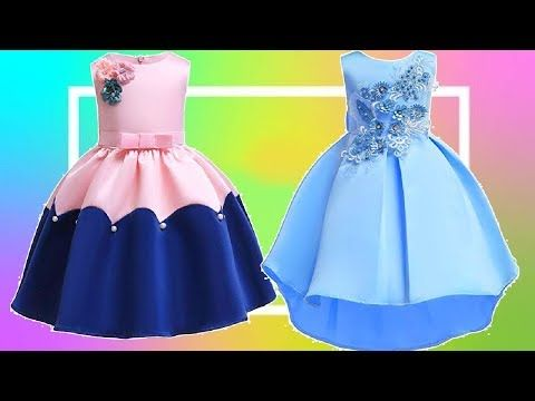 Latest Kids Party Wear Dress Collection 2018 2019 Kid S Princess Style Frock Dresses Amazon Shopping Onl Girls Frock Design Small Girls Dress Kids Gown Design