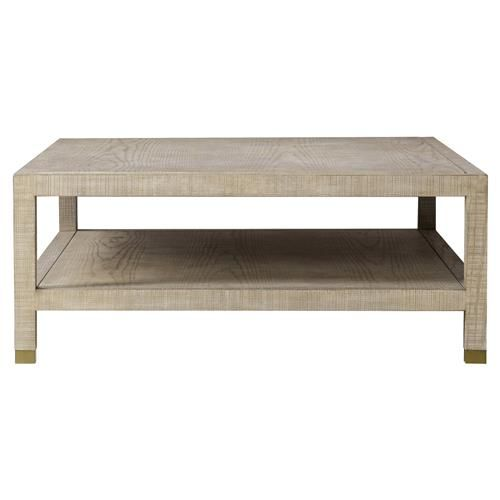 Maison 55 Raffles Modern Classic Rectangular Wood Coffee Table In