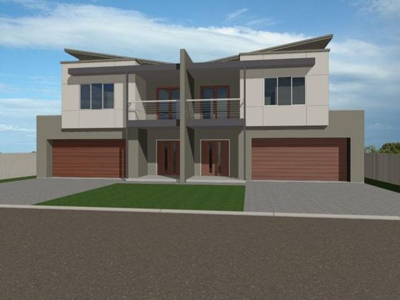 Australia duplex design and google on pinterest for Duplex plans australia