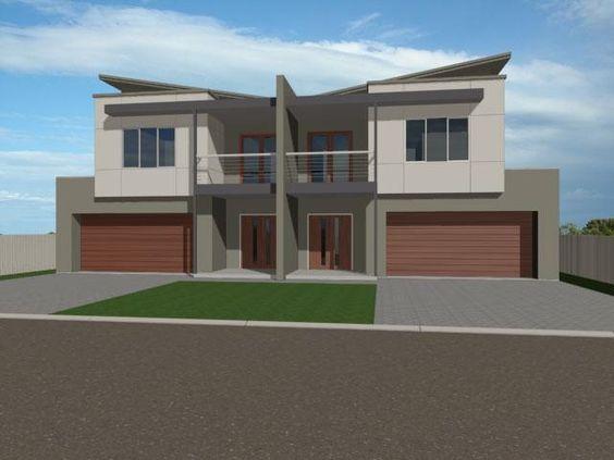 Australia duplex design and google on pinterest for Duplex plans australia