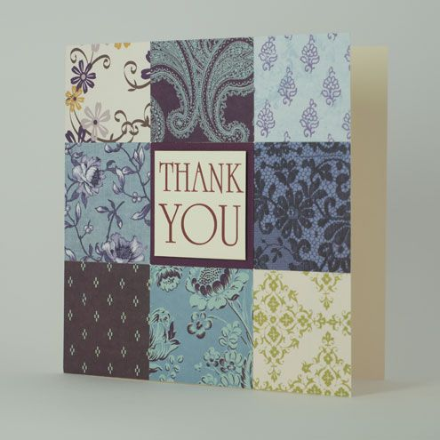 Homemade Thank You Cards Handmade Thank You Cards
