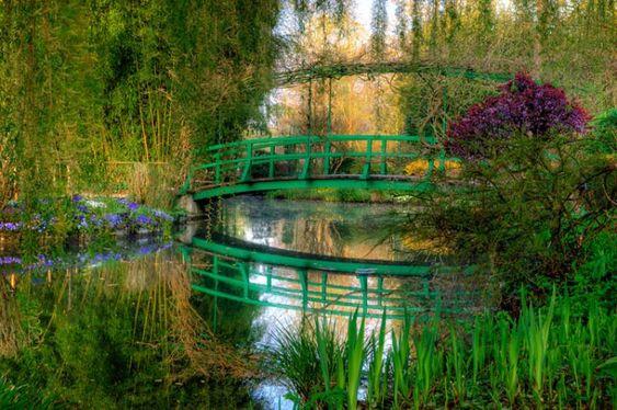 Claude Monet house garden, France