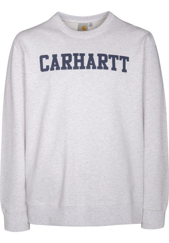 Carhartt College-Sweatshirt - titus-shop.com  #Sweatshirt #MenClothing #titus #titusskateshop