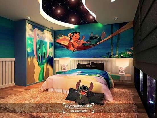 lilo and stitch bed room for kids pinterest my