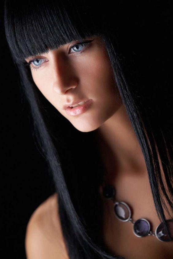 black bangs