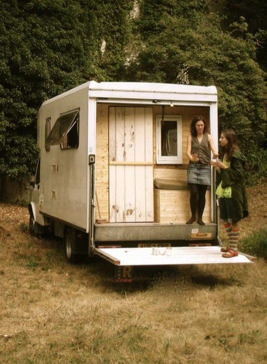 16 Gorgeous Box Truck Camper Van Conversion Vanchitecture Truck Camper Camper Trailers Camper Conversion