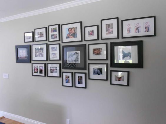 Framing design ideas ideas wall photo frames design - Picture frame ideas on wall ...