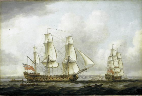 The East Indiaman Princess Royal