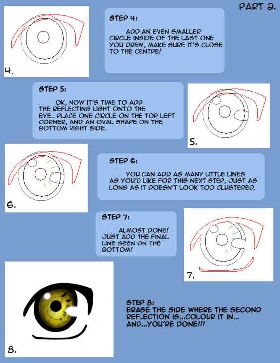 How to draw Naruto eyes pt2 by LilyArt2006 on @DeviantArt