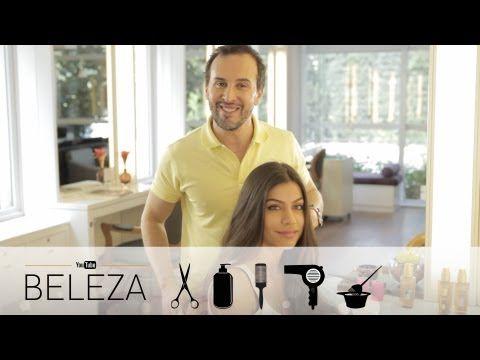Como disciplinar o cabelo com frizz por Marcos Proença