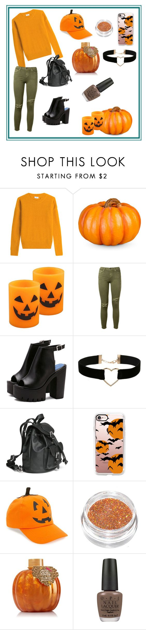 """лол"" by explorer-14579595798 on Polyvore featuring мода, Closed, Improvements, Current/Elliott, Miss Selfridge, Casetify, David & Young и OPI"