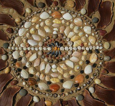 Activit manuelle pour enfant ramassez des coquillages l 39 t et faites en un somptueux tableau - Activite manuelle ete ...