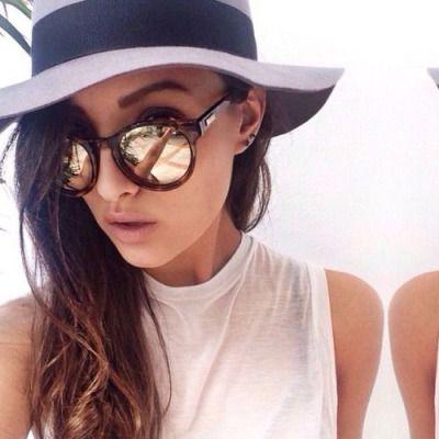 Hat, Glasses, Shirt