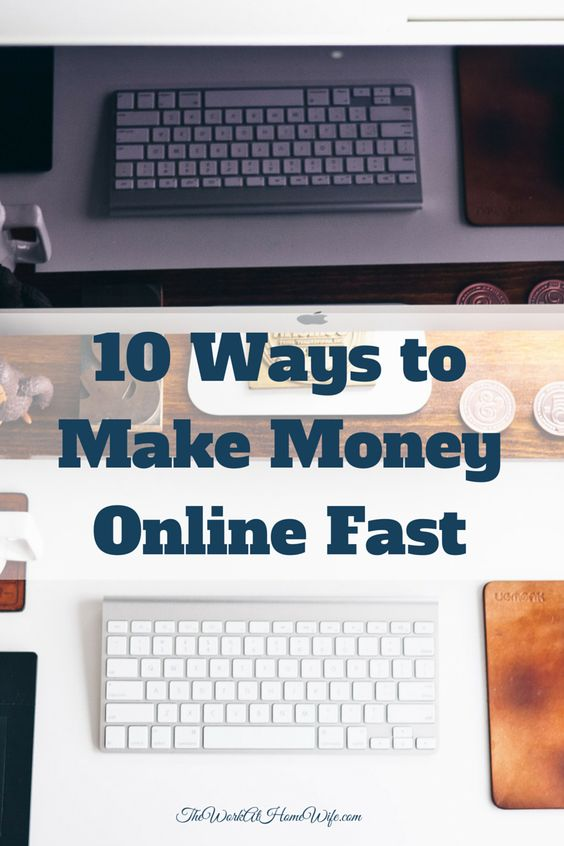 money how to make it fast