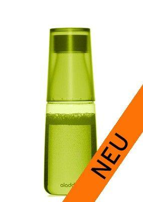 Aladdin Trinkflasche Crave 0,5 L - auch für kohlensäurehaltige Getränke gut geeignet.