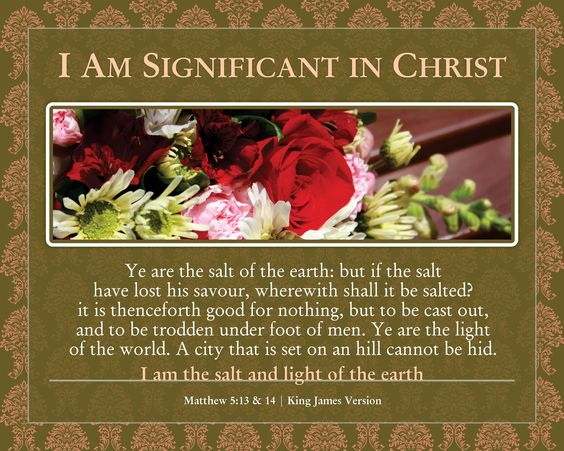 Significant Prints | Who I Am In Christ