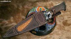 Leopard Big Five - Hunting knife by Muela - www.cosasdelmonte.com